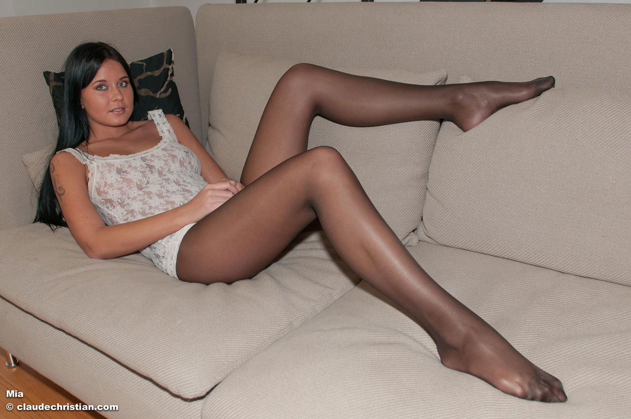 White pantyhose movies what